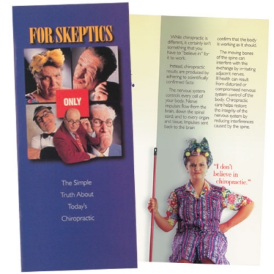 "Brochure ""For Skeptics Only"""